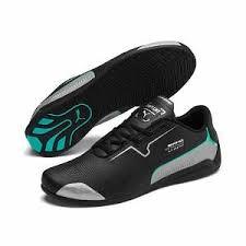 Mercedes Drift Cat 8 Trainers | Puma Black-Puma Silver | PUMA ...