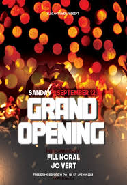 Free Grand Opening Flyer Template Free Grand Opening Flyer Templates By Elegantflyer