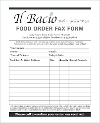 Order Form Word Template Unique Birthday Dinner Party Menu Template For Cv 48 Preinstaco