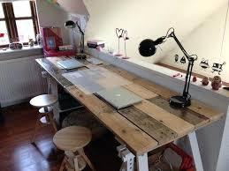 office desk design plans. Cool Diy Desk Designs How To Build A From Wooden Pallets Easy Home Office Furniture . Design Plans