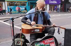 Brixton buskers – Jami Hilton returns to Brixton tube station, Oct ...