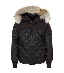 ... Men  Down Coats Canada Goose Hooded Pritchard Jacket ...