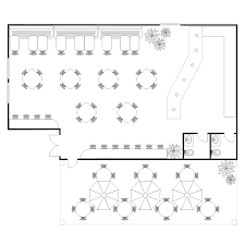 Coffee shop remodel floor plan option 1/3. Coffee Shop Floor Plan