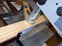 i use my band saw to rip the board for rail and stile and use my table saw to cut board for making raise panel insert