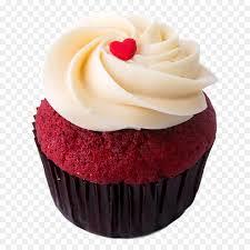 Red Velvet Cupcake Png Free Red Velvet Cupcakepng Transparent