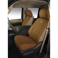 carhartt protective seat covers by covercraft front row 40 20 40