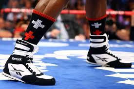 reebok boxing boots. floyd mayweather\u0027s reebok boxing boots