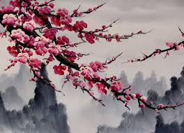best 25 cherry blossom painting ideas on cherry blossom tree paintings