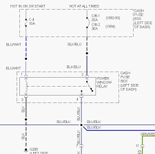 isuzu trooper power window wiring diagram wiring diagram libraries we have a 1994 trooper the c 2 30 amp is not working for thepin 1 and 2 need to have power pin one only the key on and pin 2