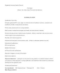 New Nurse Resume Nfcnbarroom Com