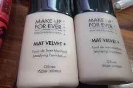 makeup forever matte velvet foundation photo 1