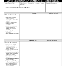 Creating A Lesson Plan Template Making 432839580534 Creating A