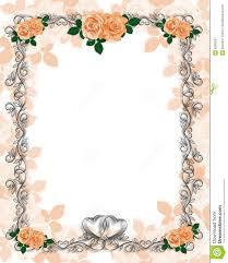 free wedding frame templates Wedding Invitation Page Borders Wedding Invitation Page Borders #27 Floral Border