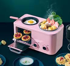 Bếp mini đa năng nhỏ gọn 3 trong 1 (lò nướng + chiên rán + hấp) - Lò nướng  thùng Thương hiệu OEM
