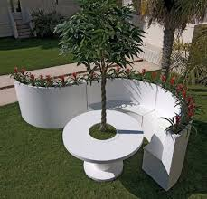 white and modern outdoor furniture by bysteel charming outdoor furniture design