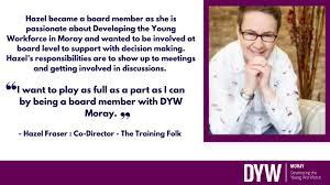 "DYW Moray on Twitter: ""Meet Hazel Fraser - she is the Co-Director ..."