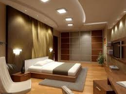 brown bedroom design. superb bedroom wall lighting ideas: modern design ideas covered in alluring soft brown painting