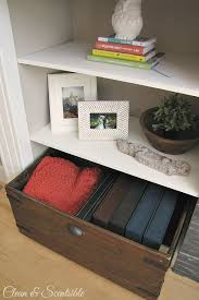 diy wooden crate tutorial clean and