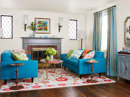 Downsized Living Room Style HGTV - Living room style