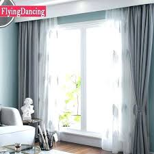 Curtains For White Walls Living Room Curtains White Grey Solid ...