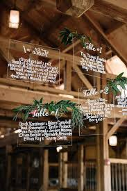 Acrylic Wedding Signage