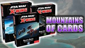x wing 2 0 conversion kits a small moon of new cards