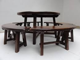 rustic round kitchen table. Medium Size Of Kitchen:round Kitchen Table Endearing Rustic Round Tables O