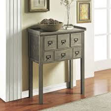 narrow entry table. Furniture:Half Moon Entry Table Narrow With Drawers Ohio Trm Furniture Mirror Small Glass Black I