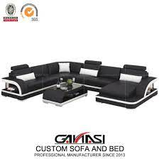 modern italian leather sofa bed for