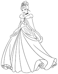 Colora Le Principesse Disney Disney Coloring Pages Disegni Da