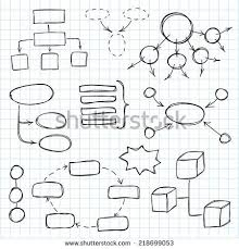 Sketch Org Chart Organization Chart Hand Drawn Stock Photos Images