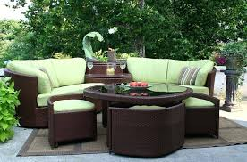 curved patio furniture ideas rattan uk