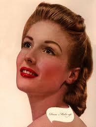 create a 1940 s face make up secrets