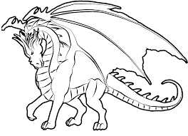 Free Printable Coloring Pages Realistic Animals Dragon Coloring