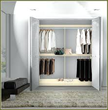 closet rods double hang closet rod lovely double hang closet rod closet rods