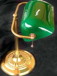 green shade desk lamp vintage desk lamp brass green glass shade by mint green table lamp green shade desk lamp rare vintage