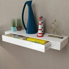 mics floating wall shelf with 2