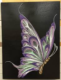 String Art Patterns Butterfly String Art String Art And Butterfly
