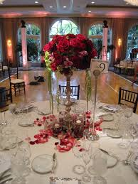 red and silver table decorations. Mesmerizing Pictures Of Pink And White Wedding Centerpiece Decoration Design Ideas : Fantastic Picture Red Silver Table Decorations
