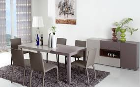 modrest puzzle modern 2 tone dining table 1