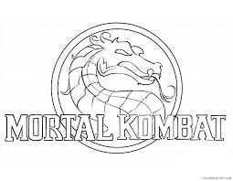 Small Picture mortal kombat coloring pages scorpion vs sub zero Coloring4free