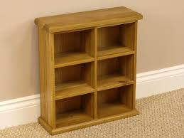 cd holders furniture. Solid Oakland Chunky Oak Small Double CD DVD Unit Cd Holders Furniture