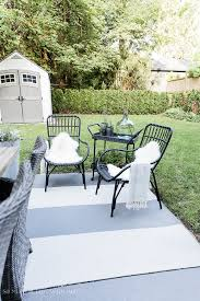 how to create two outdoor seating areas