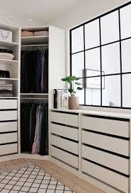 IKEA Pax In The Master Closet Look At The Crown Molding Will Do Ikea Closet Organizer Walk In Closet