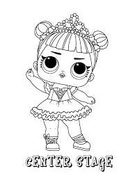 Lol Surprise Coloring Pages Print And Colorcom