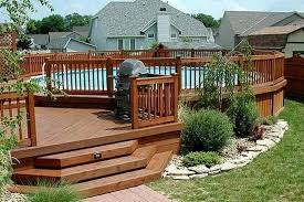 Best Deck Designs 2018 46 Simply Pool Deck Designs For Your Backyard Above Ground