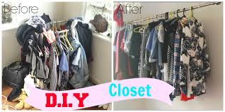 DIY Hanging Clothing Rack/Closet - YouTube