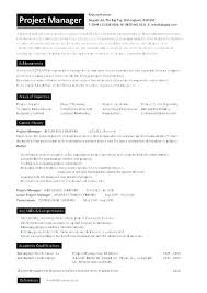 Business Analyst Project Manager Resume Format Good Technical Doc