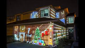 Whole House Christmas Light Projector Christmas House Projection Mapping