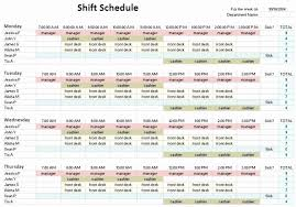 10 Hour Shift Schedule Templates 24 7 Shift Schedule Template Best Of 8 Hour Rotating Shift